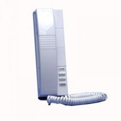 Bticino poste intérieur audio pivot - blanc - avec protection de communication 304002