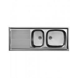 Franke Euroset évier à encastrer sans soupape 110x43,5 cm WSX651
