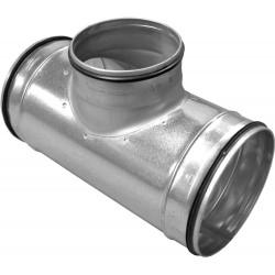 Galva T reduction pour canal de ventilation 160-125-160mm BCST993550