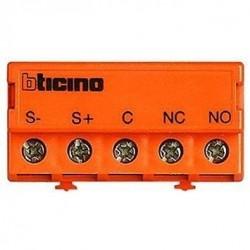 Bticino relais pour gâche - auxiliaire - libre de potentiel - accessoire linea 2000 346250