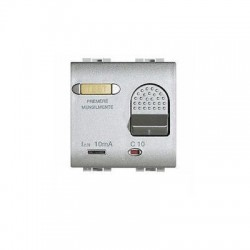 Bticino salvavita disjoncteur light tech - magneto-thermique - 2p 230v 16a - 2 modules NT4305/16