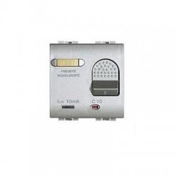 Bticino salvavita disjoncteur light tech - magneto-thermique - 2p 230v 6a - 2 modules NT4305/6