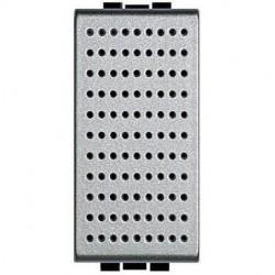 Bticino sonnerie light tech - 12 v - 5 va - 80 db - 1 module NT4351/12
