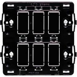 Bticino Support Magic - pour 2x3 modules - à vis 506S