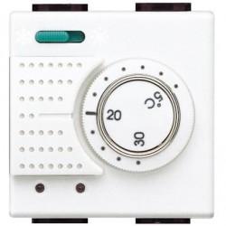 Bticino thermostat d'ambiance light 230v 2a - electronique - commutateur été/hiver N4442