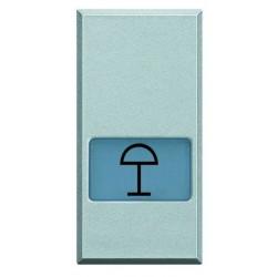 Bticino touche axolute - symbole éclairage de table - gris clair - 1 module HC4921LC