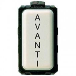 Bticino Voyant Magic - éclairable - 24V 3W - opalin - diffuseur plat - 1 module 5060/1