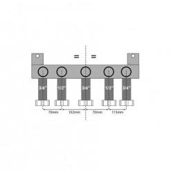 Bulex plaque de montage Isotwin 0020037591