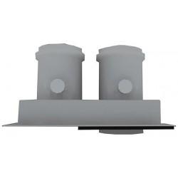 Bulex Séparateur sortie double flux 2x80  00234927
