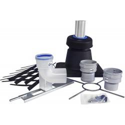 Burgerhout Kit accessoires pour flexible PP condensateur diamètre 80 mm   400100500
