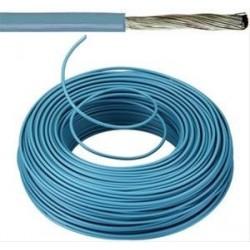 Câble souple  6mm² bleu par mètre VOBST6BLR100
