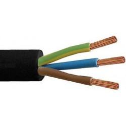 Câble souple h.t. 3g 6mm²  CTMB par mètre CTMB3G6R50
