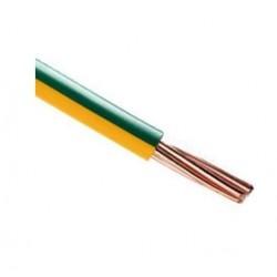 Câble vob terre 10mm² par mètre VOB10VJR100