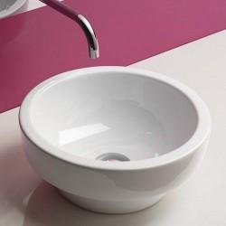 Catalano  lavabo Sfera 35cx18cm rond blanc. 135ASF00