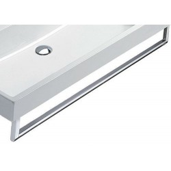 Catalano porte-serviette pour lavabo Verso  120cm chrome.  5P12VN00