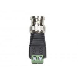 CCTV Connecteur BNC mâle pour câble TWISTED-PAIR BNCM-D