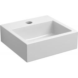 Clou lave-mains flush 1 clou 28cm + trou robinet blanc ceram CL0303010