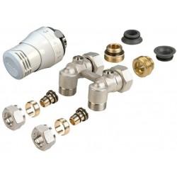 """Comap Combinaison robinette pour radiateur universal integre 1/2 """"-3/4 """"- 16MM  RK1001001"""