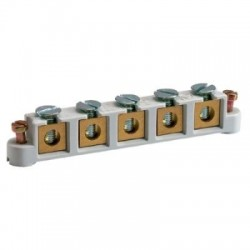 Vynckier Support à 5 bornes à vis 6mm² 030030319058