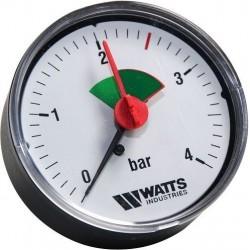 Watts manometre zone verte mhr 63/4 1/4 radial 3304104