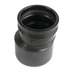 Wavin wafix pp réduction conc 75x40mm noir S40002204