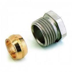 Comap Sar raccord 1/2x15 mm nickelée 834 587154
