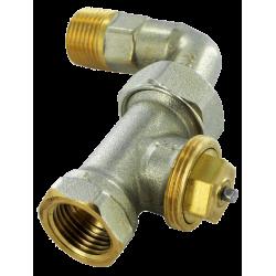 Comap Sar robinet thermostatique droit 1/2 + coud R 809  51463
