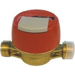 """Compteur d'eau vitesse eau chaude unimag 4/4 """" sans racc. 4/4 """"-3/4 """" PWMC130"""