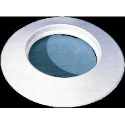 Conti Fumisterie rosace EPDM blanc diamètre 100  RCEP10