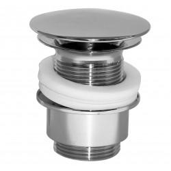Crépine design 5/4 ronde sans trop-plein chrome ETPL1000