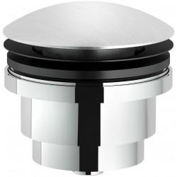 Crépine design click steel pour lavabo sans trop-plein AV0011011IX