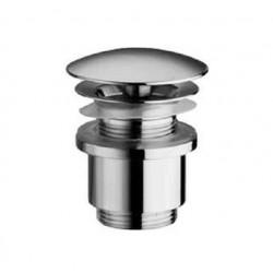 Crépine design longue 5/4 ronde sans trop-plein chrome CO81201CR