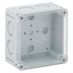 Vynckier MultiBox MB44 PC 130x130x99 à opercul  défonçables métriques couvercle gris 861522