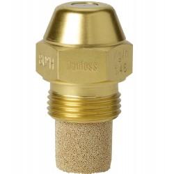 Danfoss gicleur mazout cône creux 0,55GPH de rayon 80° 030H8910