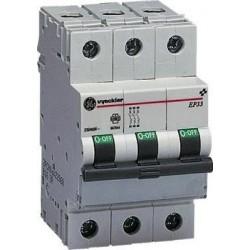 Vynckier EP60 disjoncteur 6kA 3P D 16A 566614
