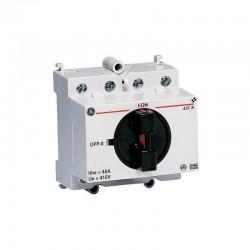 Vynckier Aster interrupteur rotatif 63a 4no 415vca ASTR6340