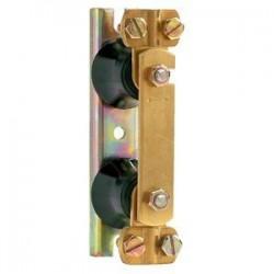 Vynckier Barrette coupure de terre-2 isolateurs-support de fixation métallique 030030197000