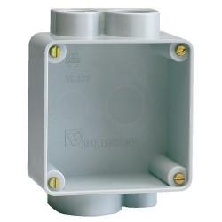 Vynckier boîte d'encastrement pour 16/32A gris 30497000