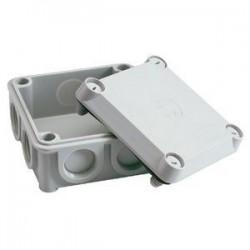 Vynckier Boîte de dérivation 2,5mm² IP54 grise avec rosace à bornes 30991004