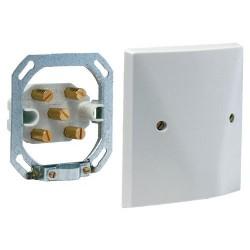 Vynckier Boîte de raccordement 6mm² 3P+N+T à 5 bornes gris 600763