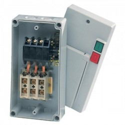 Vynckier Coffret de manoeuvre + bases de coupe-circuit à broches 4P 16A 610030