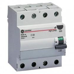 Vynckier Diff-o-Jump interrupteur differentiel type A 4P 25A 100mA D0JA425/100