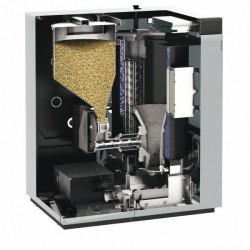 Viessmann Vitoligno 300-C 6-18kW avec système à vis sans fin flexible VL3C019