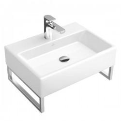 Villeroy & Boch, lavabo 50cm plus 1(3) trou robinet Memento noir. 513350S0