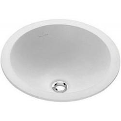 Villeroy & Boch, lavabo à encastrer loop 45cm avec trop-plein blanc. 61404501