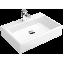 Villeroy & Boch, lavabo à poser 60cm sans trou robinet Memento blanc. 51356201