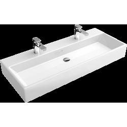 Villeroy & Boch, lavabo pour meuble Memento 120cm plus trou robinet blanc. 5133CH01