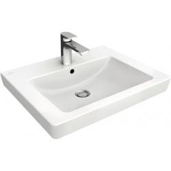 Villeroy & Boch, lavabo Subway 2.0 60cm plus 1(3) trou robinet blanc. 71136001
