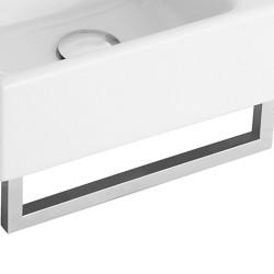 Villeroy & Boch, sèche serviettes Memento pour lave-mains chrome. 874934D7