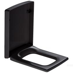 Villeroy & Boch, siège WC soft-close Memento noir. 9M17S1S0